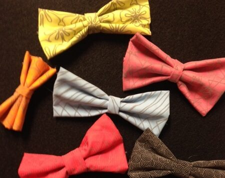 dog bow ties that velcro onto collar